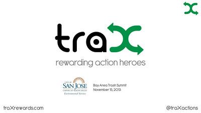 TraX at Bay Area Trash Summit talk