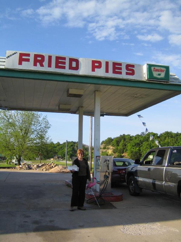 fried and pies gas, a natural