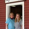 Tully Farms Dairy in Dunstable is doing more delivery business due to the Covid-19 pandemic. Jennifer Tully (Charlie's wife), and her daughter Kristina, both of Dunstable, at the store. (SUN/Julia Malakie)