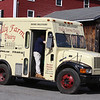 Tully Farms Dairy in Dunstable is doing more delivery business due to the Covid-19 pandemic. Truck returns from a delivery run. (SUN/Julia Malakie)
