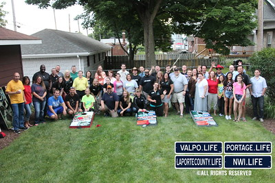 NWITweetup July 2014 - Cornhole for Charity