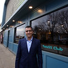 Sean Gannem, owner of the Two55 Club, a private club for Middle Eastern and north African residents, at 255 Chelmsford Street, formerly the Gaelic Club. (SUN/Julia Malakie)