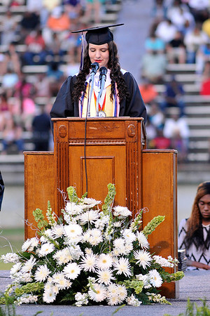 10 Valedictorian Brooke Barker 587