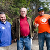 Unitil's Dave Clapham and Kyle Shadd help James Hays pick out a tree during the Unitil's second Annual Energy Saving Trees Community Event at Lakeview Nurseries in Lunenburg on Saturday afternoon. SENTINEL & ENTERPRISE / Ashley Green