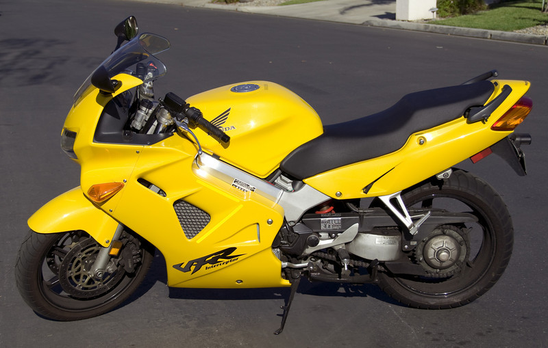 Left-side view of the VFR.