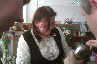 2013-03-05, Anna Abasova Celebrating 8th of March