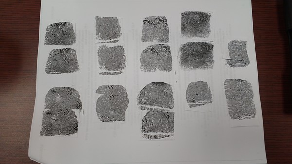 Learing how to match and process fingerprints