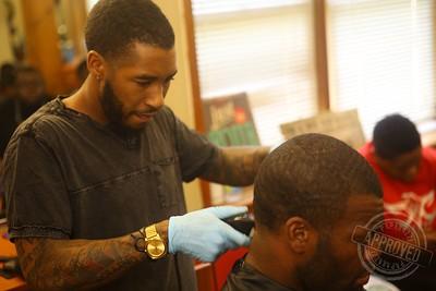 Walt J. Wilson (@walthebarber) | Style Rite Barber Shop | 7.3.15