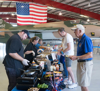 Delicious In Your Mouth (DIYM) Fly Inn at the Valiant Air Command Monthly Breakfast 7-9-2016