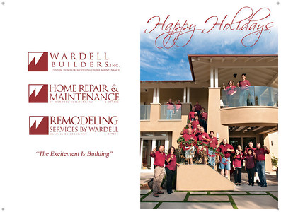2012 Holiday Card BiFold Outside