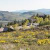 Sun Mountain Lodge on top of ridge, Winthrop, WA