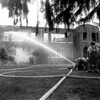 11/16/93 --  FIREMAN BATTLE AN ARSON FIRE IN 1993 THAT DESTROYED THE WAYNESVILLE MIDDLE SCHOOL BUILDING.