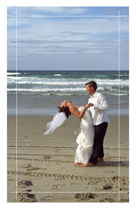 wedding photo printed onto canvas
