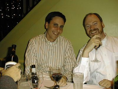 Paul and Mike McHugh, circa 1998, in New York City.
