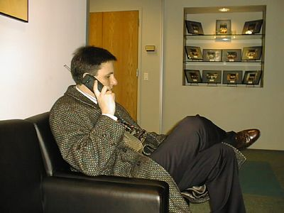Paul on phone.