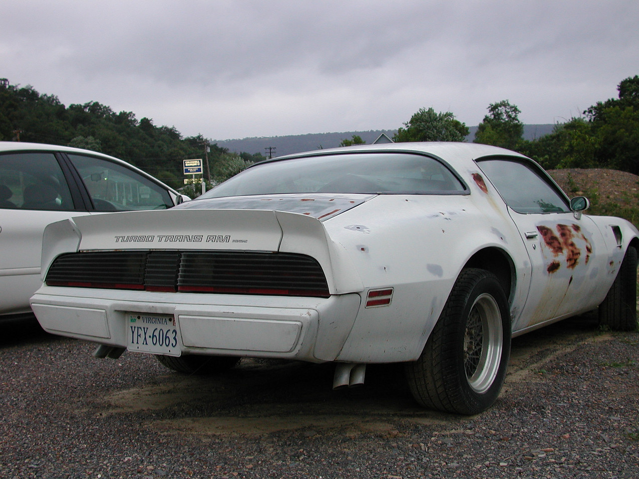 Romney WVA, is within 35 miles (or less) of the Virginia State Line. This Trans Am Pace car shows a Virginia licsense plate.