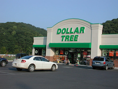 Hey my wife back home would love this huge new Dollar Tree in nearby Keyser, West VA.