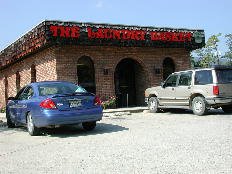 An interesting nice looking modern Laundry located in Maryland near the Maryland/West Va Line.