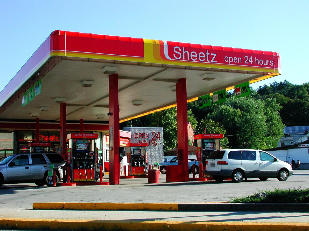 The Sheetz in downtown Romney.