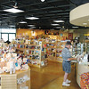 Another view of the WNPA store that offers various top quality guide materials, scenic photography books, maps, and artwork from the local Tucson area.