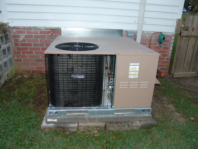 New Gas Pak Furnace & AC