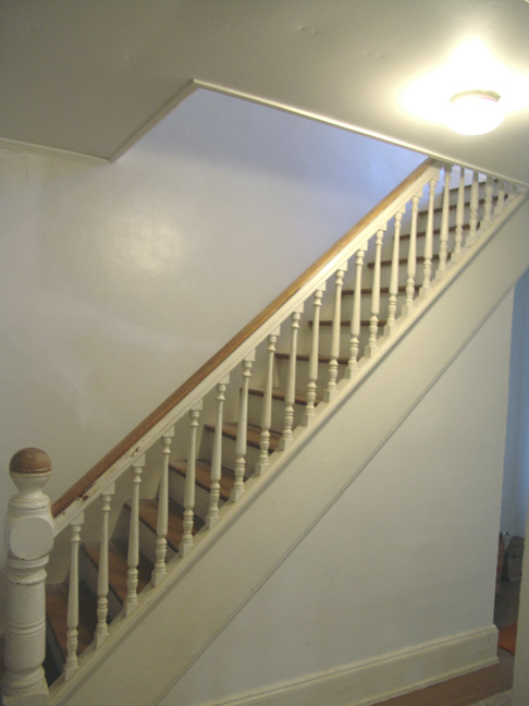 Side view of Beautiful Staircase.