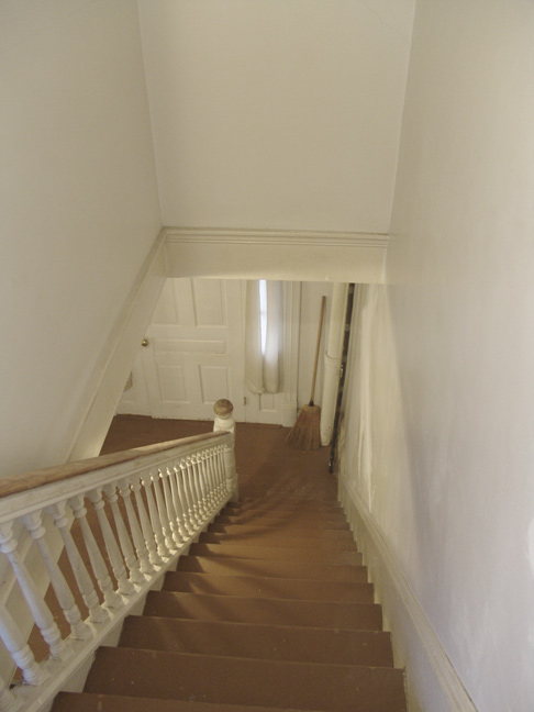 View looking down the Staircase.