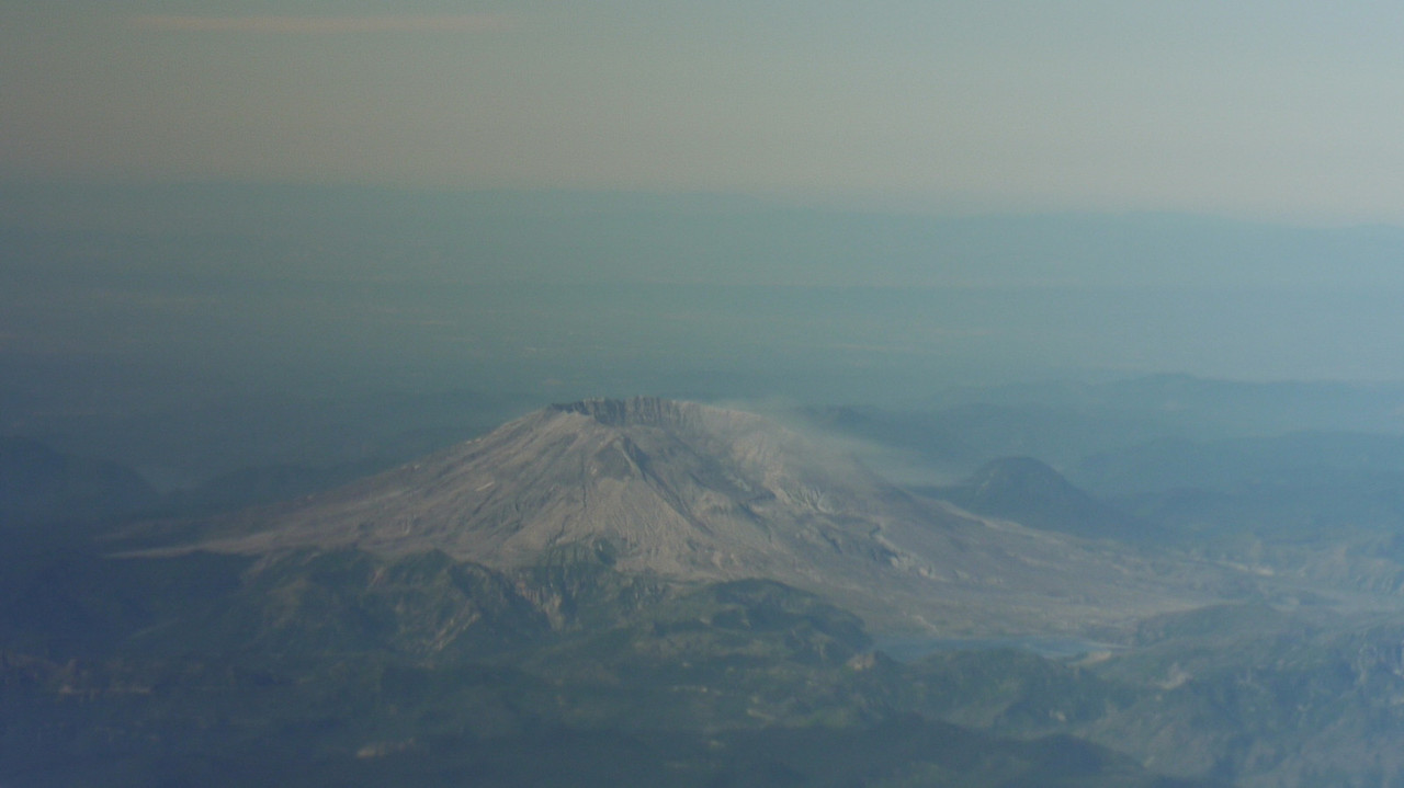 Mount St Helens.