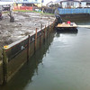 Sandy Hook canal Whidbey Island. This seawall has been leaning for a few years. The design called for stabilizing the concrete with deadman tie backs then refacing with vinyl sheet pile.
