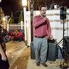 Wendy Limbaugh and Sentinel & Enterprise reporter Jon Bishop sing karaoke together at the Bootlegger in Lunenburg on Thursday evening. SENTINEL & ENTERPRISE / Ashley Green