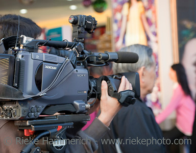 TV Reporter in the City - Reality TV in Hong Kong, China