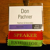 Exhibitor Badge from WRMC