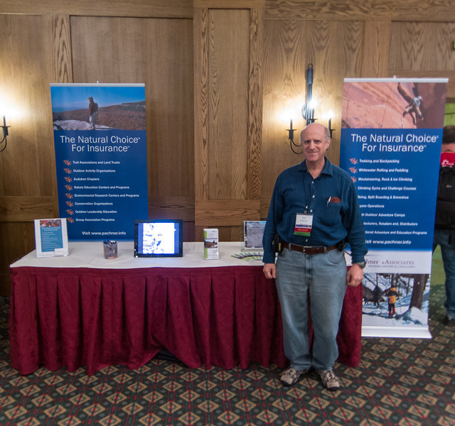 Don at WRMC Exhibit Booth
