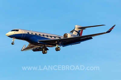 PriJet Gulfstream G-VI G650 - N709DS - LAX