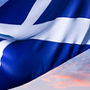 Scottish Dawn, Saltire - Scottish Flag