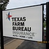 Texas Farm Bureau Insurance sign face