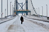2010 FORTH ROAD BRIDGE CLOSED FOR FIRST TIME BECAUSE OF SNOW !