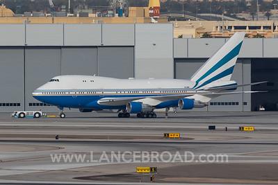 Las Vegas Sands 747SP - VQ-BMS - LAS