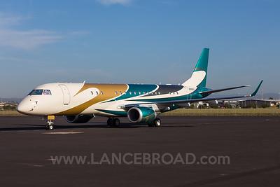 Challenger Management LLC Embraer Lineage 1000 - N760CC - BNE