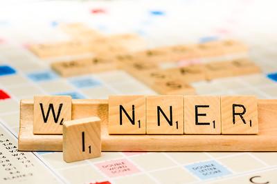 Scrabble - Winner