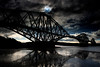 20.3.2015 Partial Eclipse of The Sun over the world famous Forth Rail Bridge, North Queensferry, Scotland, UK. ©LesleyDonald