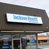 Jackson Hewitt Lighted Wall Sign