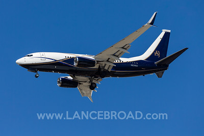 Boeing Corporation 737-700BBJ - N839BA - BNE