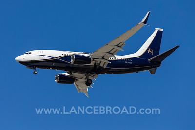 Boeing Corporation 737-700BBJ - N839BA - BNE