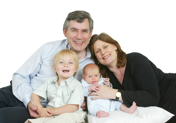 GORDON BROWN AND FAMILY ©lesleyDonald