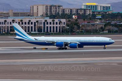Las Vegas Sands A340-500 - VP-BMS - LAS