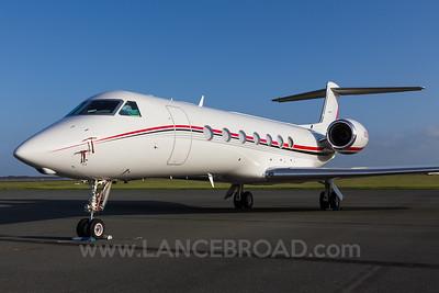 Warbler LLC Gulfstream 5 G550 - N505D - BNE