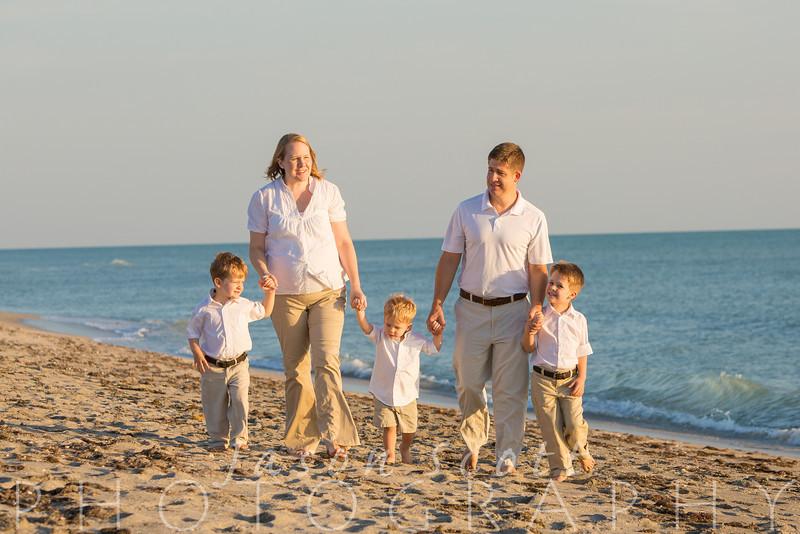McVey Family on Venice Beach, May 2014