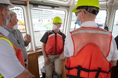 JAX LNG's 100th bunkering of TOTE's world-class Marlin Vessels