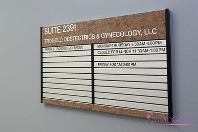 Dr. Trogolo's Office Branding Images (Watermarked)